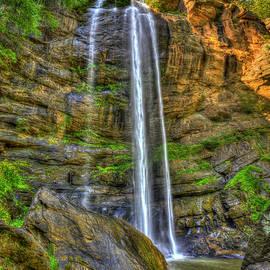 Toccoa Falls Toccoa Falls College Waterfall Landscape Art by Reid Callaway
