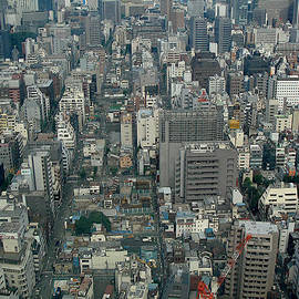 Tokyo Cityscape by Yvonne Johnstone