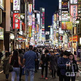 Tokyo Nights by Didier Marti