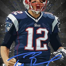 Tom Brady by Zapista Zapista