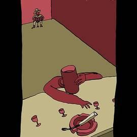 Tom Waits - Closing Time by BlackLineWhite Art