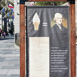 Tomas Jefferson's Ice Cream Recipe At Rushmore Monument by Tatiana Travelways