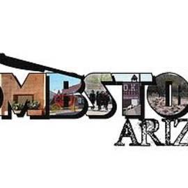 Tombstone Arizona Big Letter by Colleen Cornelius
