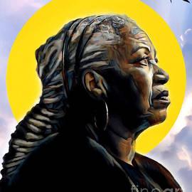 Toni Morrison by Carl Gouveia