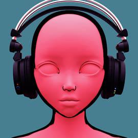Chainat Prachatree - Toon girl with headphone