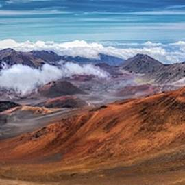 Top Of Haleakala Crater by Andy Konieczny
