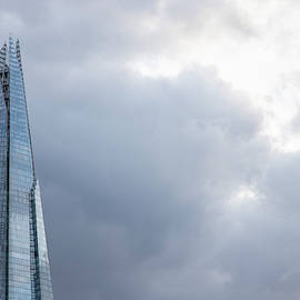 Top Of The Shard In London  by John McGraw