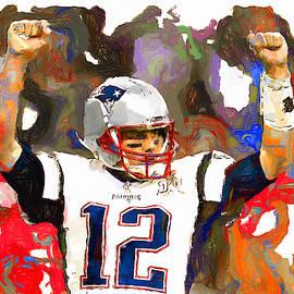 Touchdown Yes Brady by John Farr