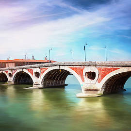 Toulouse France Pont Neuf  by Carol Japp