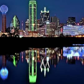 Towering over Dallas by Frozen in Time Fine Art Photography