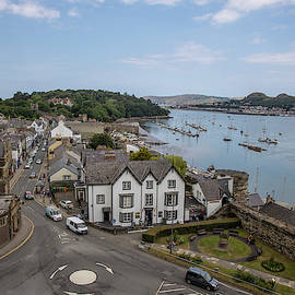 Town Of Conwy In Wales  by John McGraw