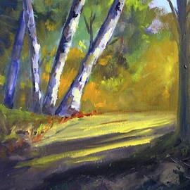 Trail Light by Nancy Merkle