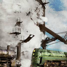 Train - Locomotive - Coal Stop 1942 by Mike Savad