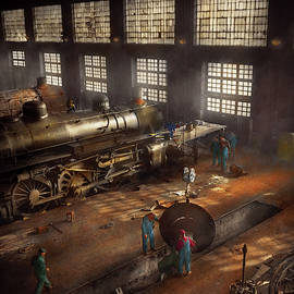 Mike Savad - Train - Repair - Third door on the right 1942
