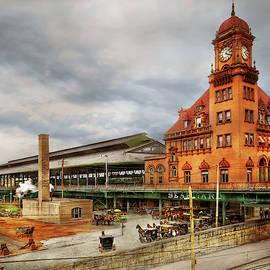 Train Station - Richmond VA - The Main Street Station 1905 by Mike Savad