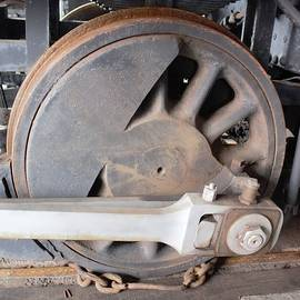 Train Wheel by Ali Baucom