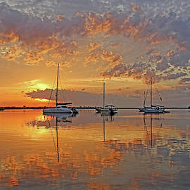 Tranquility Bay - Florida Sunrise by HH Photography of Florida