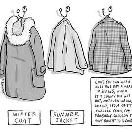 Trans-seasonal Coat by Becky Barnicoat