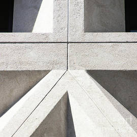 Transamerica Pyramid In San Francisco Abstract Geometry Details R737 Sq2 by Wingsdomain Art and Photography