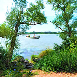 Trawling The Shoreline by Leslie Montgomery
