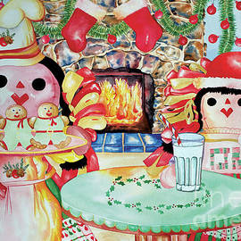Treats For Santa Clause by Kandyce Waltensperger