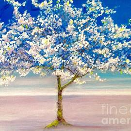 Tree in blossom by Melanie Roan