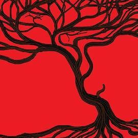 Chante Moody - Tree In Red 2
