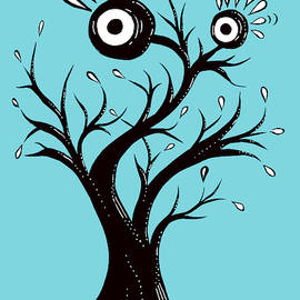 Tree Monster Excited by Boriana Giormova