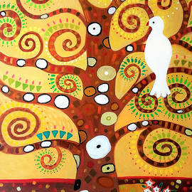 Tree of Life after Klimt by A Hillman