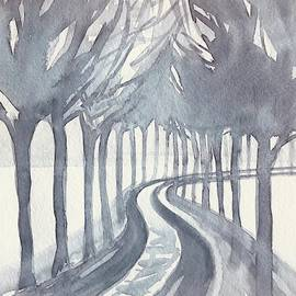 Trees On a Winter Day by Luisa Millicent