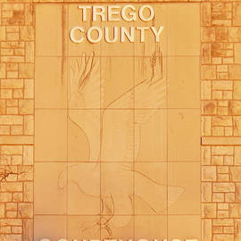Trego County Courthouse by William Moore