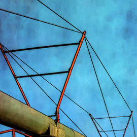 Triangles And Sky 4338 Dp_3 by Steven Ward