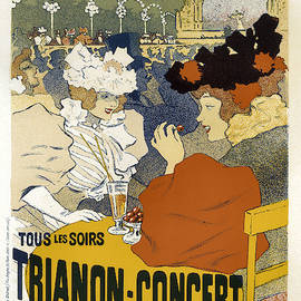 Trianon Concert Vintage French Advertising by Vintage French Advertising