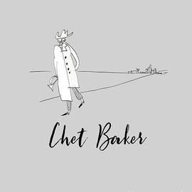 Tribute to Chet Baker by BlackLineWhite Art