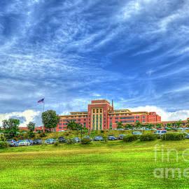 Tripler Army Medical Center Hospital Landscape Oahu Hawaii Art by Reid Callaway
