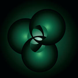 Triplet in green by Peter Antos