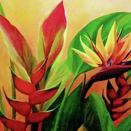 Tropical Flowers 2 by Shylaja Nanjundiah