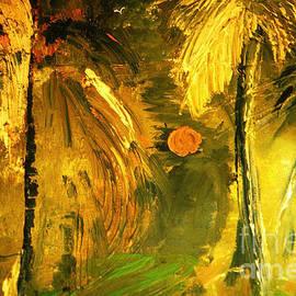Tropical Gold by Zsanan Studio