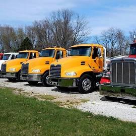 Truck Lot 1 by R John Ferguson