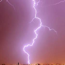 Tucson Lightning Strike by Douglas Taylor