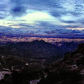 Tucson Twilight Panorama by Chance Kafka
