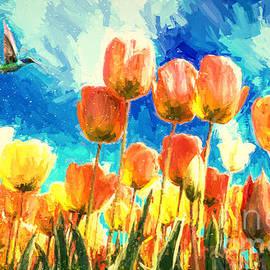 Tulip Paradise by Tina LeCour