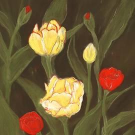 Tulips In My Garden by Anastasiya Malakhova