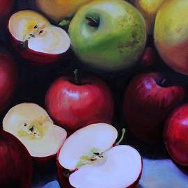 Tumbling Apples by Kelly Gross