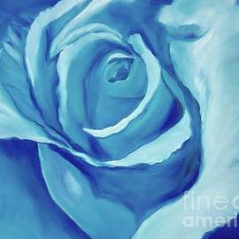 Turquoise Rose 11 by Jenny Lee