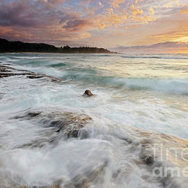Turtle Bay Sundown by Mike Dawson