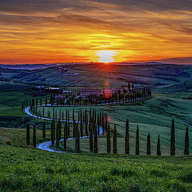 Tuscan Sunset by Chris Lord