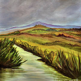 Tuscan Valley    by Janice Pariza