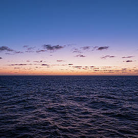 Twilight At Sea II by William Dickman