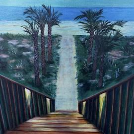 Twilight At The Beach by Judy Jones